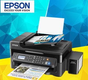 爱普生L565墨仓式网络传真打印机一体机 多功能大型喷墨打印机;