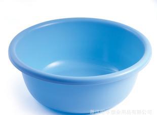 供应洗衣盆 塑料多用圆盆 家用塑料制品盆 大直径盆 51CM;