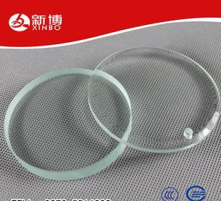化工玻璃 特种玻璃 钢化打孔玻璃;