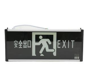 国标消防应急标志灯具-1B 应急疏散 单面应急消防指示灯;